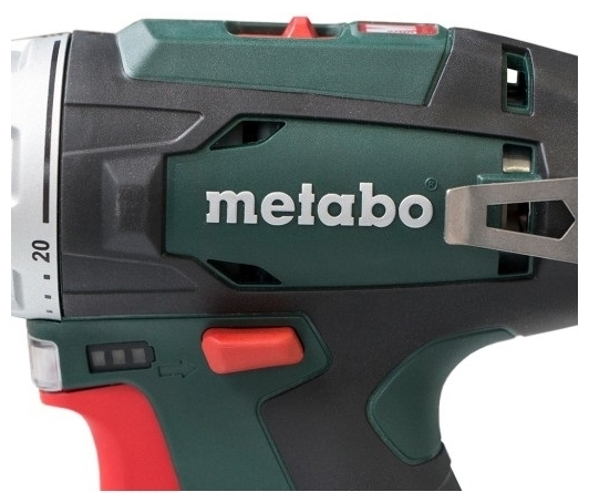 Metabo PowerMaxx BS 2020 Basic, 12 В, 2.0 А·ч х2, коробка - емкость аккумулятора: 2А·ч