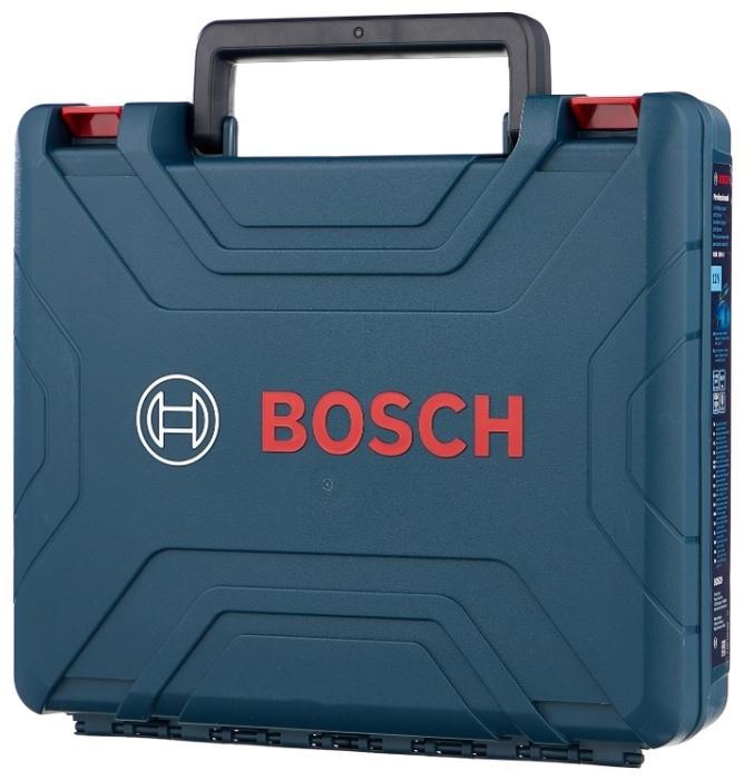 BOSCH GSB 120-LI Li-Ion 2.0 А-ч 12 В х2 кейс - макс. диаметр сверления (металл): 10мм
