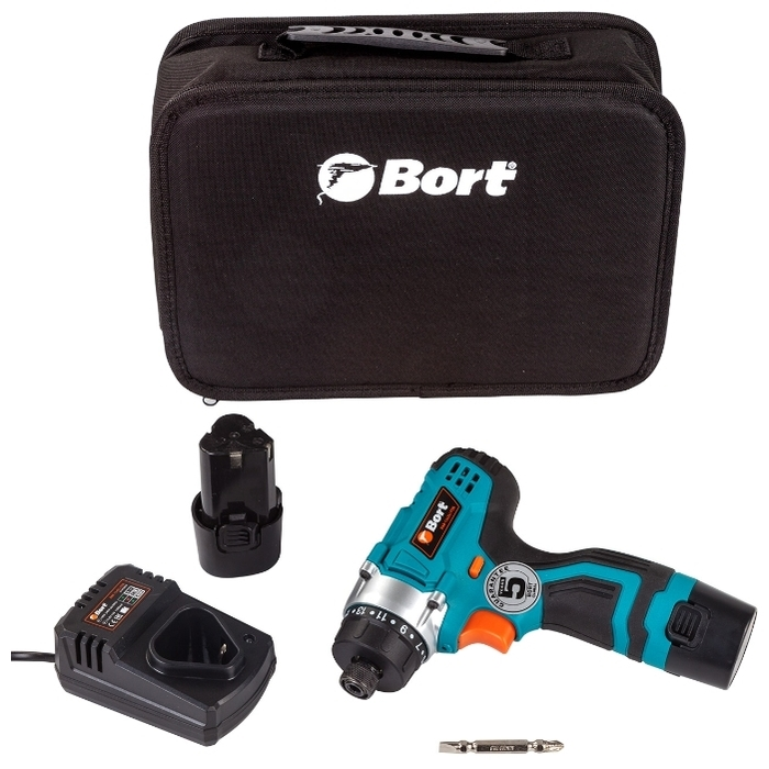 Bort BAB-12X2LI-FDK - количество аккумуляторов: 2шт.