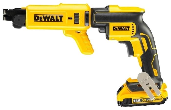 DeWALT DCF620D2K - напряжение аккумулятора: 18В