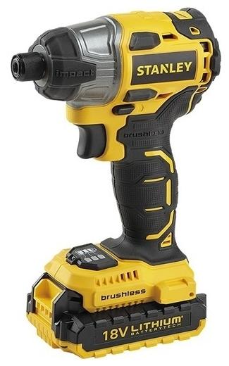 STANLEY SBI201D2K - напряжение аккумулятора: 18В
