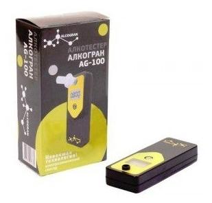 Alcogran AG-100 - питание: ААА, 1шт