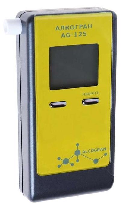 Alcogran AG-125 - персональный алкотестер