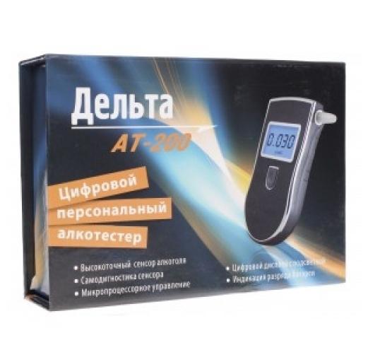 Дельта АТ-200 - шаг шкалы: 0.001промилле