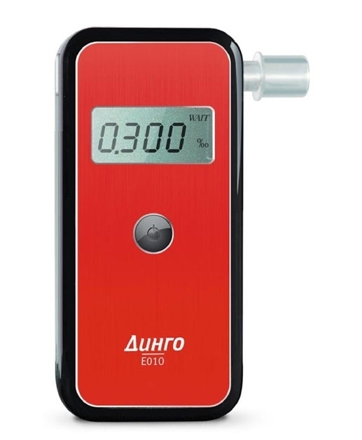 Динго E-010 Lite - полупрофессиональный алкотестер
