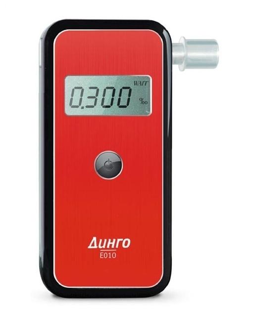 Динго E-010 - полупрофессиональный алкотестер