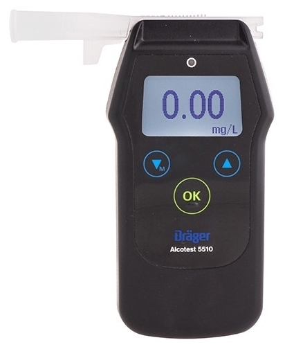 Drager Alcotest 5510 - питание: АА, 2шт