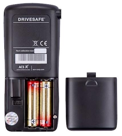 DRIVESAFE II - автовыключение, индикатор разряда батареи