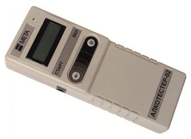 МЕТА 02 спектрофотометрический - продув с мундштуком