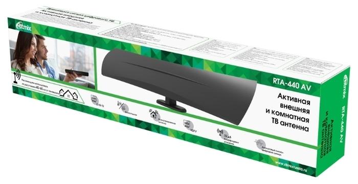 Ritmix RTA-440 AV - питание: сеть 220В