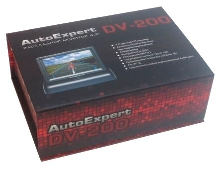 "AutoExpert DV-200 - экран 4.3"", формат 16:9"