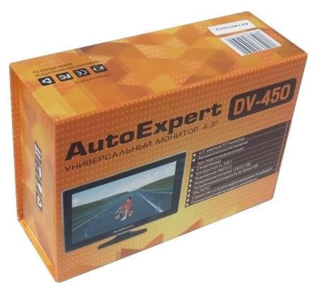 AutoExpert DV-450 - установка на торпедо