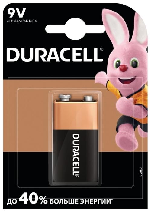 Duracell Basic 9V Крона - типоразмер: Крона