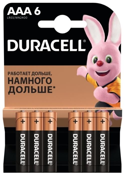 Duracell Basic AAA - типоразмер: AAA