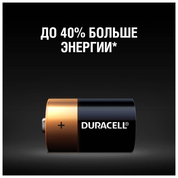 Duracell Basic D - технология: щелочная