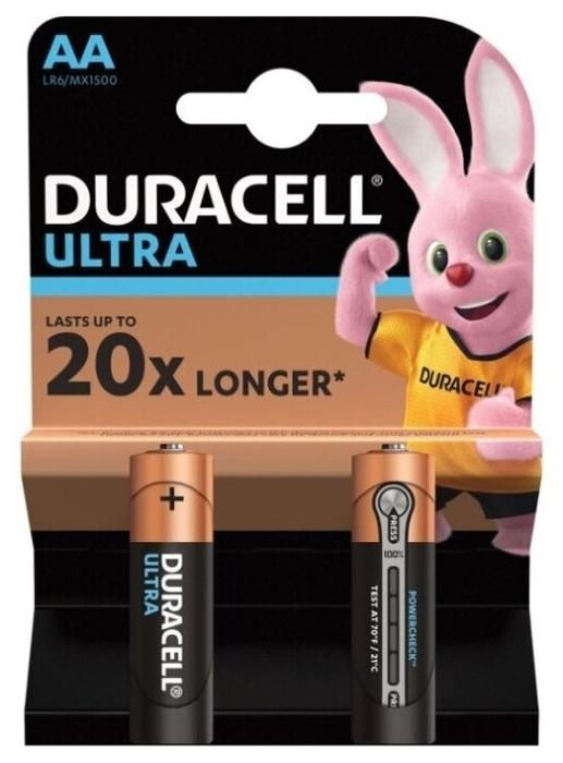 Duracell Ultra Power AA/LR6 - типоразмер: AA