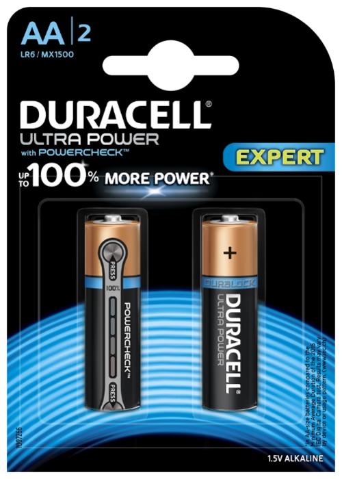 Duracell Ultra Power AA/LR6 - тип: батарейка