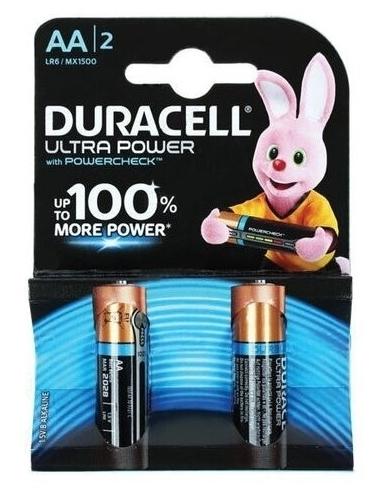 Duracell Ultra Power AA/LR6 - технология: щелочная