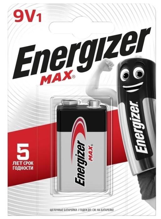 Energizer Max 9V/Крона - тип: батарейка