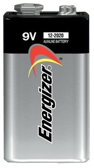 Energizer Max 9V/Крона - технология: щелочная