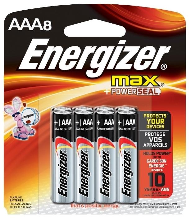 Energizer Max AAA/LR03 - типоразмер: AAA