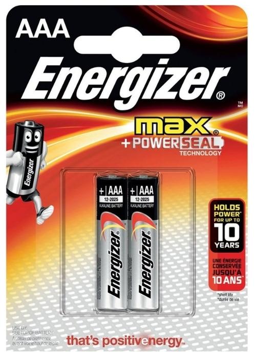 Energizer Max AAA/LR03 - тип: батарейка