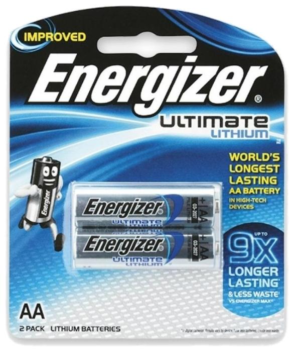 Energizer Ultimate Lithium AA - типоразмер: AA