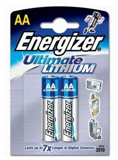 Energizer Ultimate Lithium AA - тип: батарейка