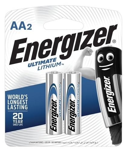 Energizer Ultimate Lithium AA - технология: Lithium