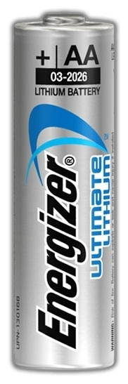 Energizer Ultimate Lithium AA - рабочее напряжение: 1.5В