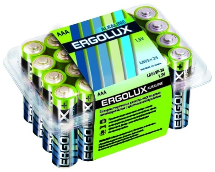 Ergolux Alkaline AAA - типоразмер: AAA