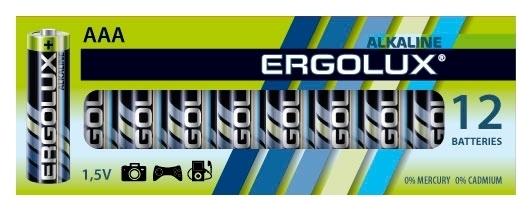 Ergolux Alkaline AAA - тип: батарейка