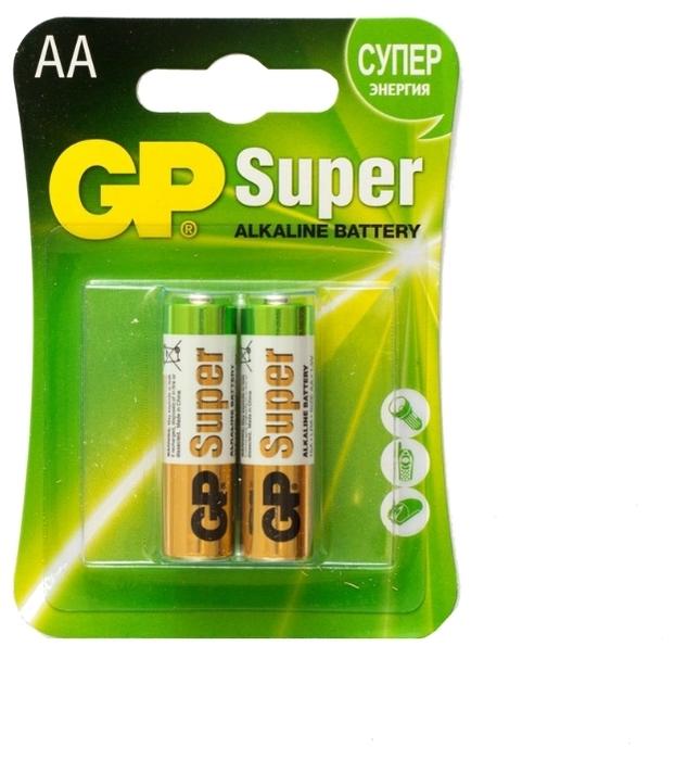 GP Super Alkaline AA - тип: батарейка