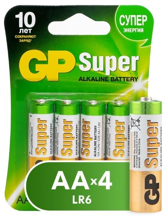 GP Super Alkaline AA - технология: щелочная