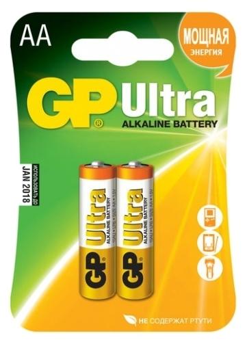 GP Ultra Alkaline AA - тип: батарейка
