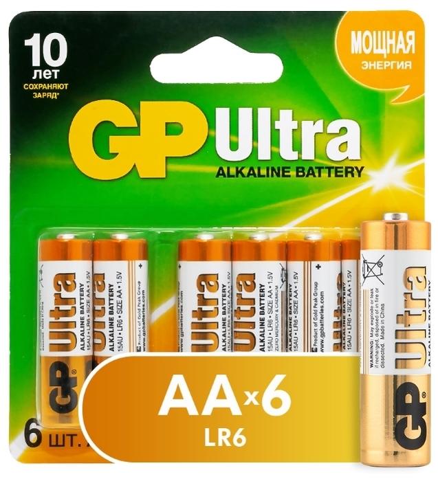 GP Ultra Alkaline AA - технология: щелочная