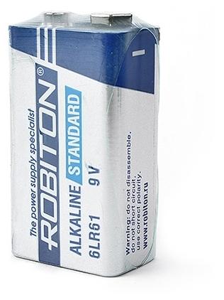 ROBITON Alkaline Standart 6LR61 Крона - типоразмер: Крона