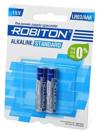 ROBITON Alkaline Standart LR03/AAA - типоразмер: AAA
