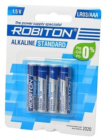 ROBITON Alkaline Standart LR03/AAA - тип: батарейка