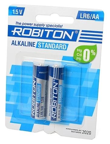 ROBITON Alkaline Standart LR6/AA - тип: батарейка