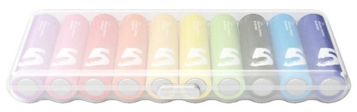 Xiaomi AA Rainbow 5 - технология: щелочная