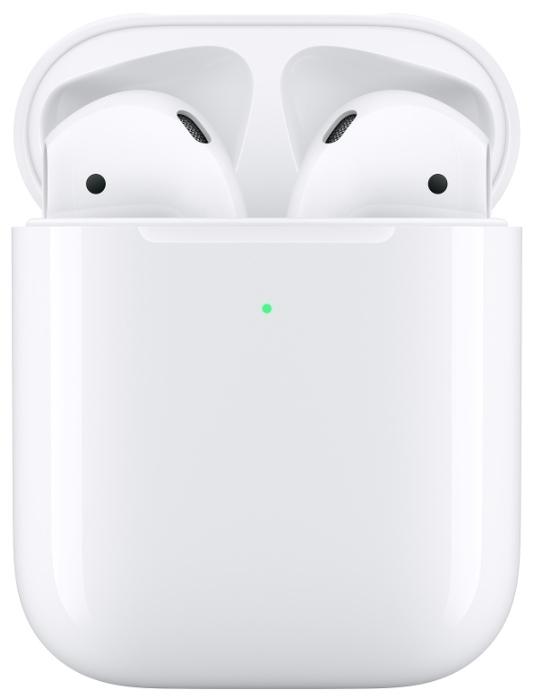 Apple AirPods 2 с беспроводным зарядным футляром MRXJ2 - конструкция: вкладыши