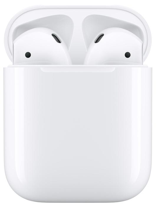 Apple AirPods 2 с зарядным футляром MV7N2 - конструкция: вкладыши