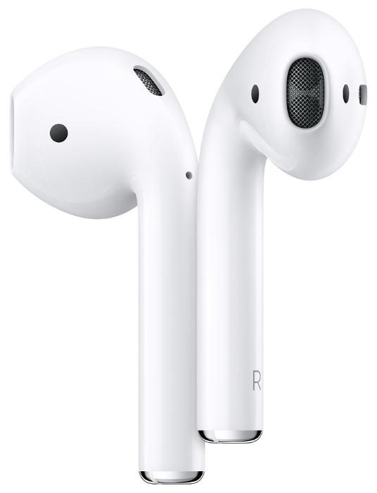 Apple AirPods 2 с зарядным футляром MV7N2 - подключение: Bluetooth 5.0