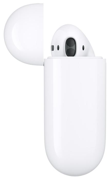 Apple AirPods 2 с зарядным футляром MV7N2 - количество микрофонов: 2