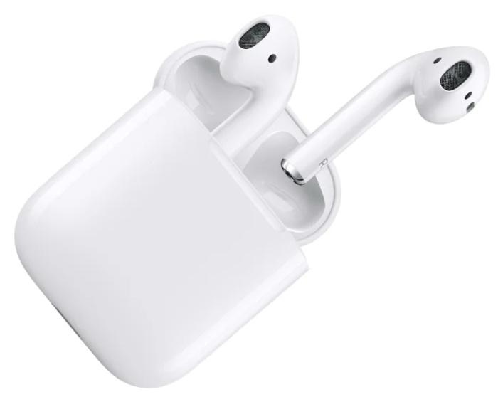 Apple AirPods 2 с зарядным футляром MV7N2 - тип излучателей: динамические