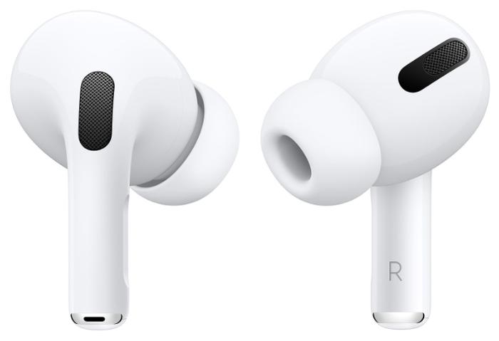 Apple AirPods Pro - зарядка: Lightning, беспроводная