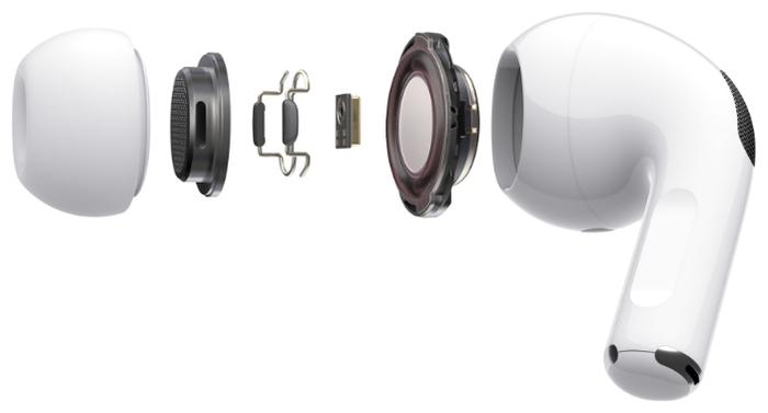 Apple AirPods Pro - степень защиты: IPX4