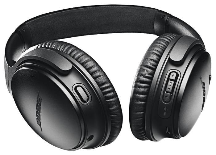 Bose QuietComfort 35 II - подключение: Bluetooth 4.0, NFC