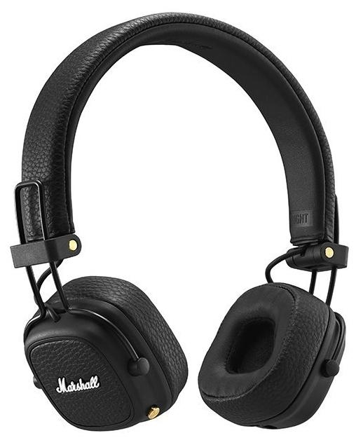 Marshall Major III Bluetooth - конструкция: накладные (закрытые)